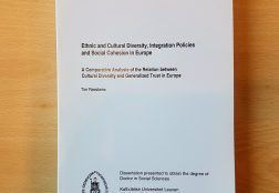 Ethnic and Cultural Diversity, Integration Policies and Social Cohesion in Europe